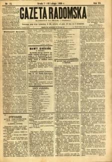 Gazeta Radomska, 1890, R. 7, nr 15