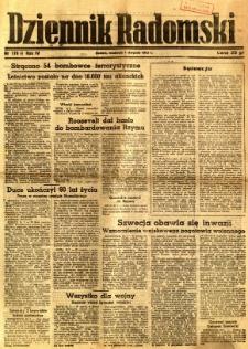 Dziennik Radomski, 1943, R. 4, nr 179