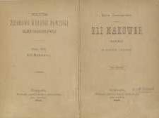 Eli Makower : powieść w trzech tomach T. 1