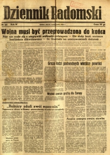 Dziennik Radomski, 1943, R. 4, nr 234