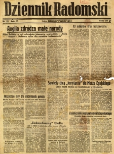 Dziennik Radomski, 1943, R. 4, nr 257