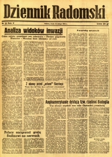 Dziennik Radomski, 1944, R. 5, nr 38