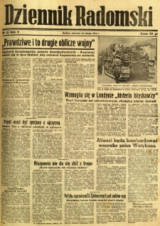 Dziennik Radomski, 1944, R. 5, nr 45