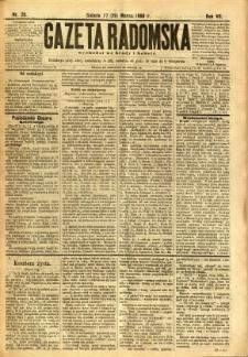 Gazeta Radomska, 1890, R. 7, nr 26