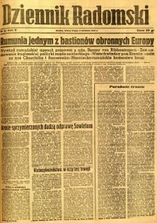 Dziennik Radomski, 1944, R. 5, nr 82