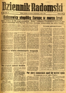 Dziennik Radomski, 1944, R. 5, nr 100