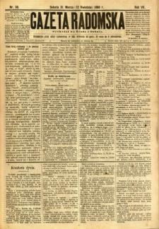 Gazeta Radomska, 1890, R. 7, nr 30