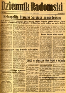 Dziennik Radomski, 1944, R. 5, nr 102