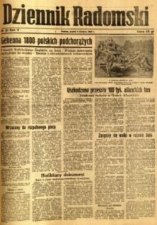 Dziennik Radomski, 1944, R. 5, nr 127