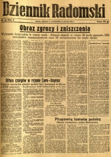 Dziennik Radomski, 1944, R. 5, nr 135