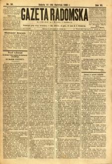 Gazeta Radomska, 1890, R. 7, nr 34