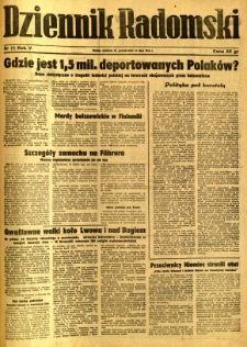 Dziennik Radomski, 1944, R. 5, nr 171