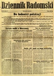 Dziennik Radomski, 1944, R. 5, nr 181