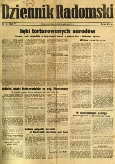 Dziennik Radomski, 1944, R. 5, nr 249