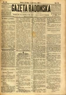 Gazeta Radomska, 1890, R. 7, nr 46