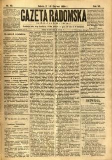 Gazeta Radomska, 1890, R. 7, nr 48