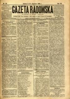 Gazeta Radomska, 1890, R. 7, nr 50