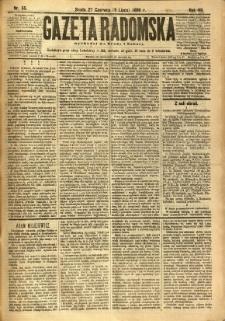 Gazeta Radomska, 1890, R. 7, nr 55