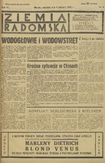 Ziemia Radomska, 1933, R. 6, nr 6