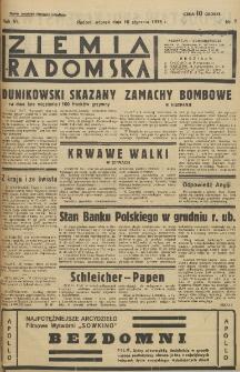 Ziemia Radomska, 1933, R. 6, nr 7