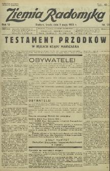 Ziemia Radomska, 1933, R. 6, nr 101