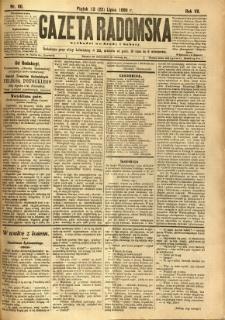 Gazeta Radomska, 1890, R. 7, nr 60