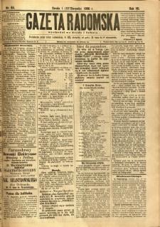 Gazeta Radomska, 1890, R. 7, nr 64