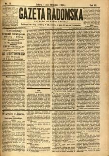 Gazeta Radomska, 1890, R. 7, nr 73