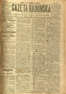 Gazeta Radomska, 1890, R. 7, nr 83