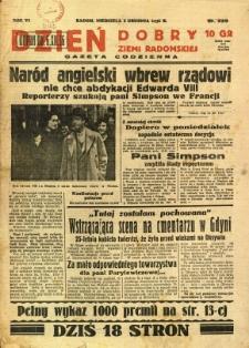Dzień Dobry Ziemi Radomskiej, 1936, R. 6, nr 339