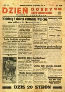 Dzień Dobry Ziemi Radomskiej, 1937, R. 7, nr 239