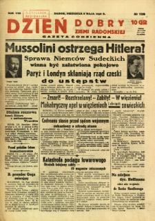 Dzień Dobry Ziemi Radomskiej, 1938, R. 8, nr 126