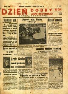 Dzień Dobry Ziemi Radomskiej, 1938, R. 8, nr 216