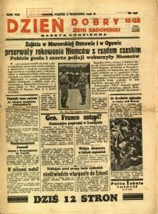 Dzień Dobry Ziemi Radomskiej, 1938, R. 8, nr 249
