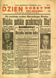 Dzień Dobry Ziemi Radomskiej, 1938, R. 8, nr 273