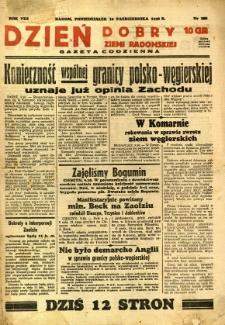 Dzień Dobry Ziemi Radomskiej, 1938, R. 8, nr 280