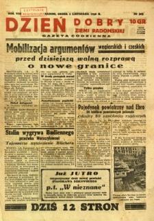 Dzień Dobry Ziemi Radomskiej, 1938, R. 8, nr 303