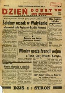 Dzień Dobry Ziemi Radomskiej, 1939, R. 9, nr 44