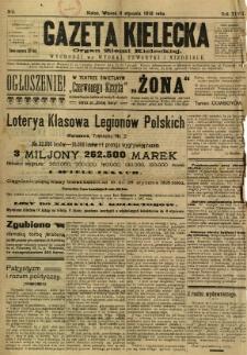 Gazeta Kielecka, 1918, R. 47, nr 4