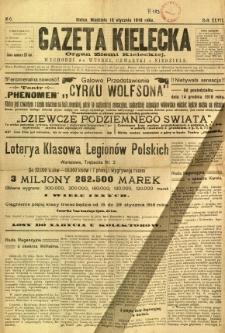 Gazeta Kielecka, 1918, R. 47, nr 6