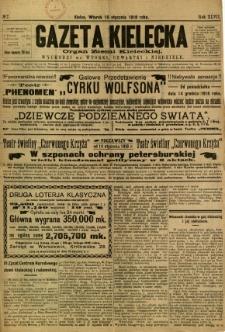 Gazeta Kielecka, 1918, R. 47, nr 7