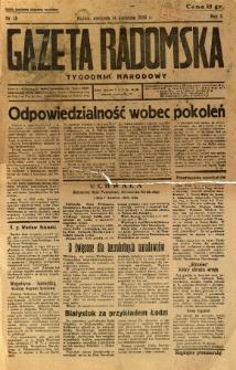 Gazeta Radomska : Tygodnik Narodowy, 1935, R. 2, nr 15
