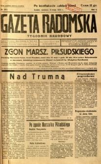 Gazeta Radomska : Tygodnik Narodowy, 1935, R. 2, nr 20b