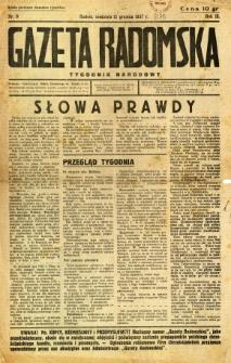 Gazeta Radomska : Tygodnik Narodowy, 1937, R. 3, nr 9