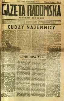 Gazeta Radomska : Tygodnik Narodowy, 1938, R. 4, nr 22