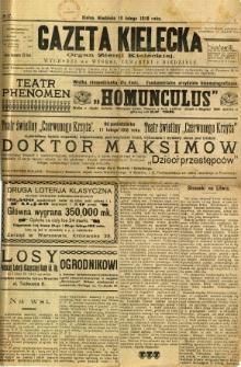 Gazeta Kielecka, 1918, R. 47, nr 17