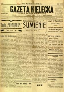Gazeta Kielecka, 1918, R. 47, nr 36