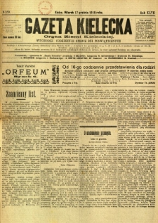 Gazeta Kielecka, 1918, R. 47, nr 180