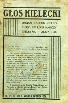 Głos Kielecki, 1936, R. 2. nr 7/8