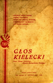 Głos Kielecki, 1939, R. 6